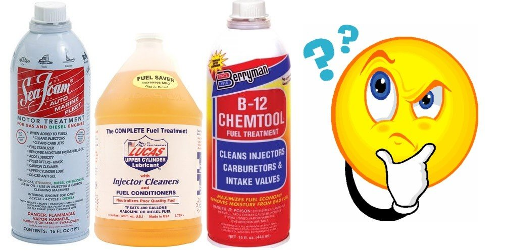 Selection of different fuel cleaners - do fuel injector cleaners work