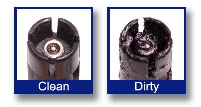 Fuel Injector Cleaning - dirty injectors