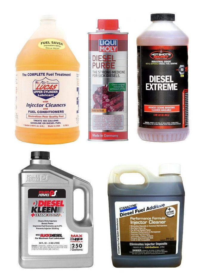 TOP 5 Best Diesel Injector Cleaners