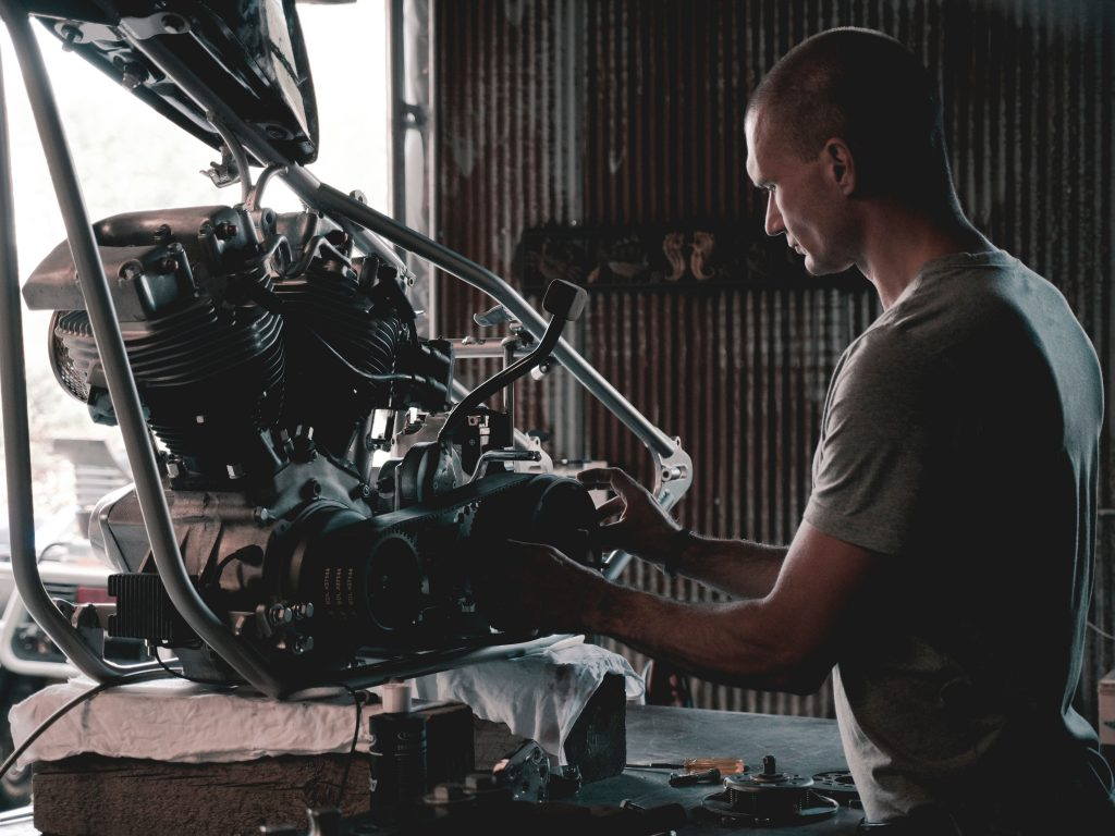 Bike Engine maintenance