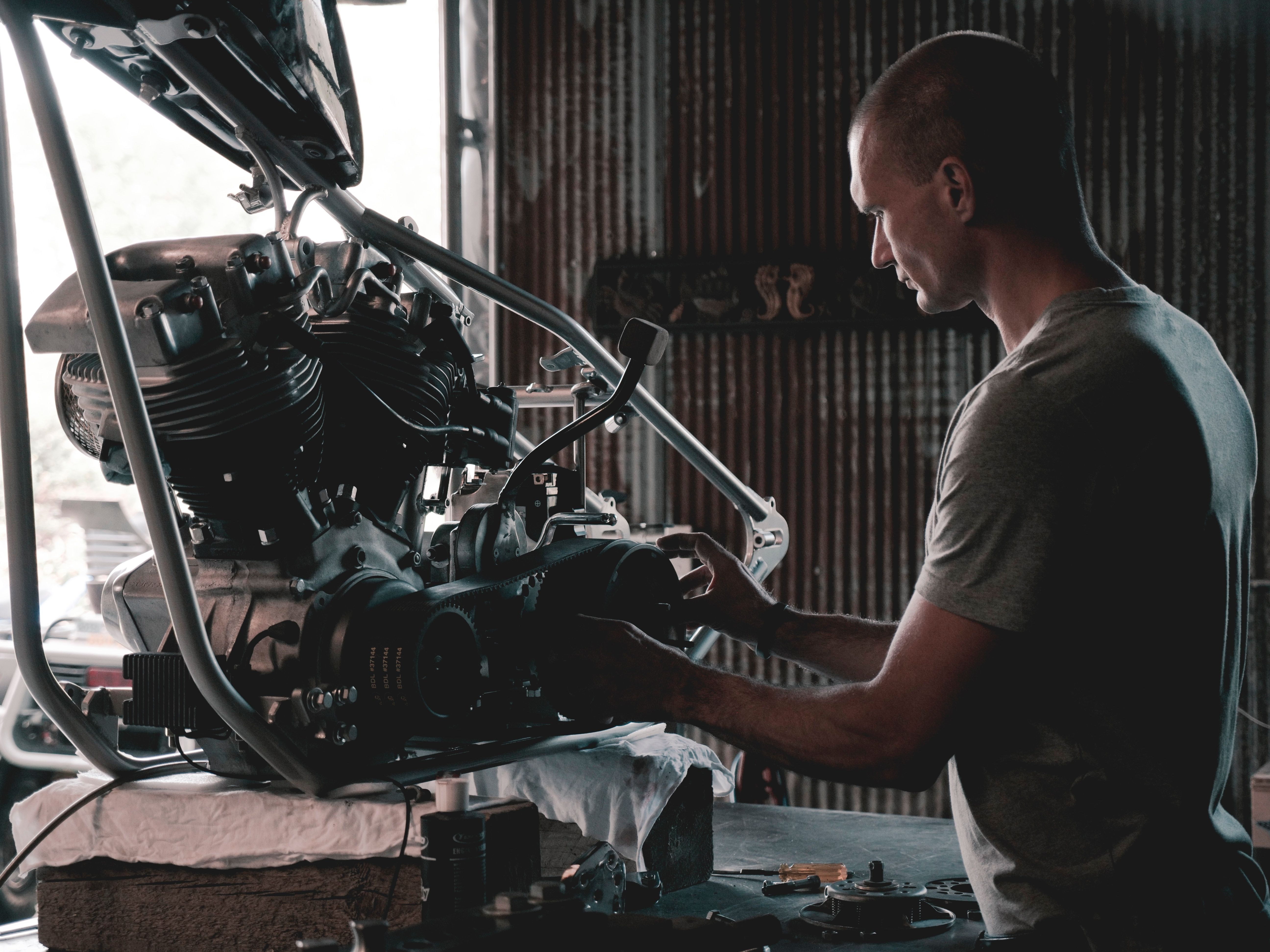 Bike Engine maintenance
